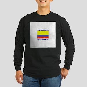 Cartagena, Colombia Long Sleeve Dark T-Shirt