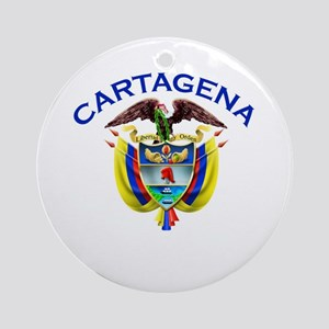 Cartagena, Colombia Ornament (Round)
