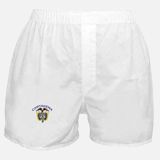 Cartagena, Colombia Boxer Shorts