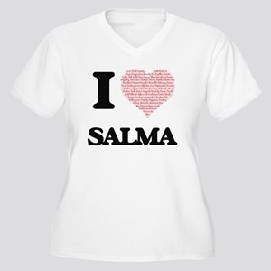 I love Salma (heart made from wo Plus Size T-Shirt