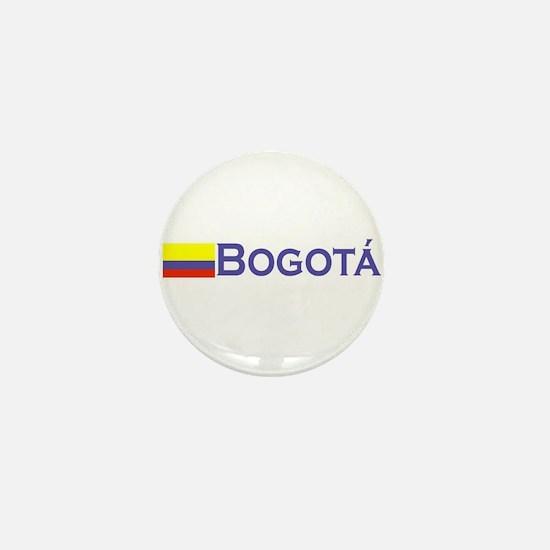 Bogota, Colombia Mini Button