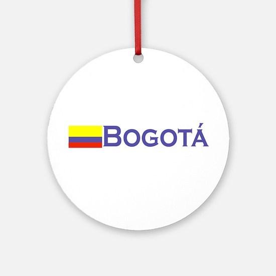 Bogota, Colombia Ornament (Round)