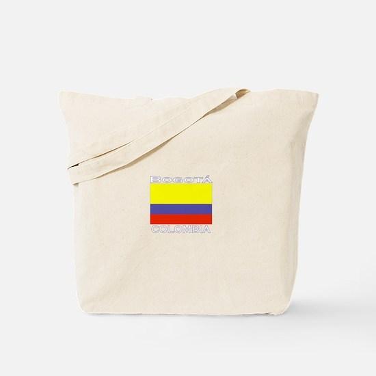 Bogata, Colombia Tote Bag
