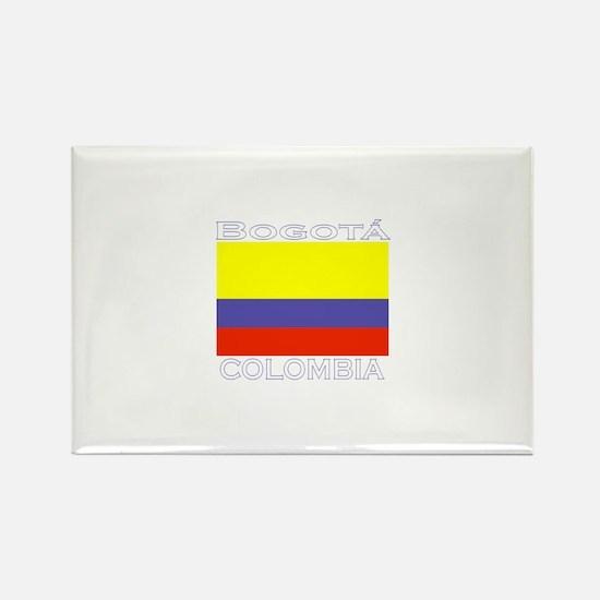 Bogata, Colombia Rectangle Magnet