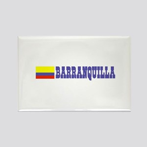 Barranquilla, Colombia Rectangle Magnet