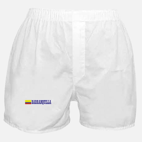 Barranquilla, Colombia Boxer Shorts