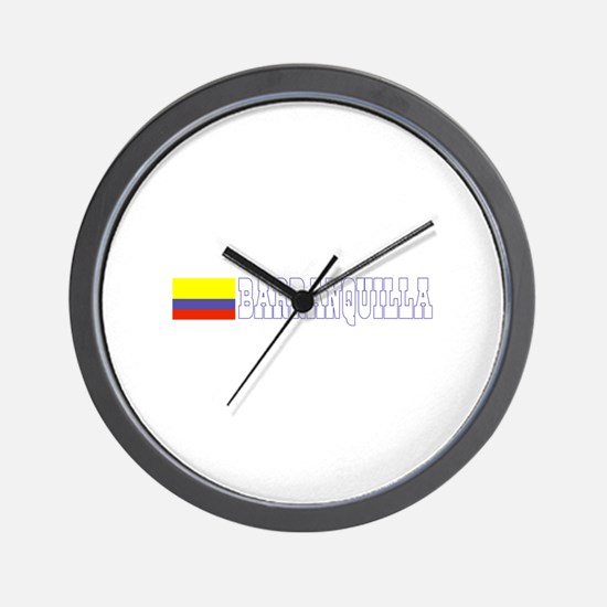 Barranquilla, Colombia Wall Clock
