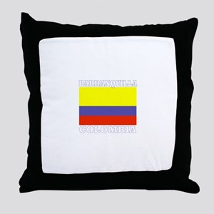 Barranquilla, Colombia Throw Pillow