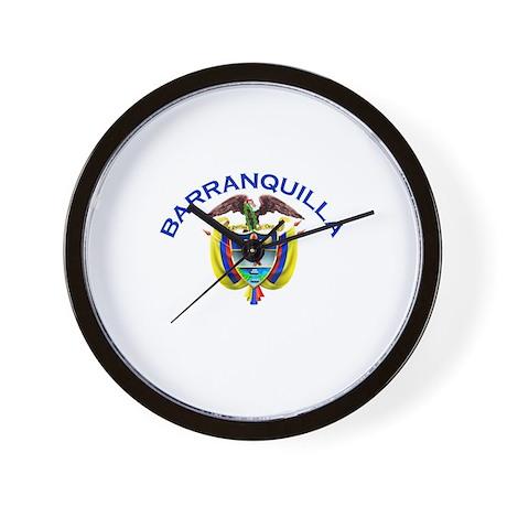 Barranquilla, Colombia Wall Clock