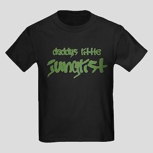 Daddy's Little Junglist Kids Dark T-Shirt