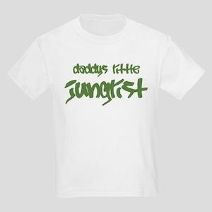 Daddy's Little Junglist Kids Light T-Shirt