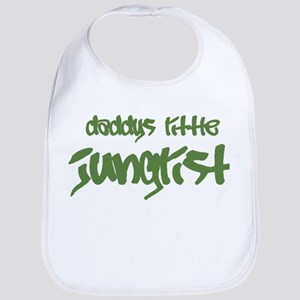 Daddy's Little Junglist Bib