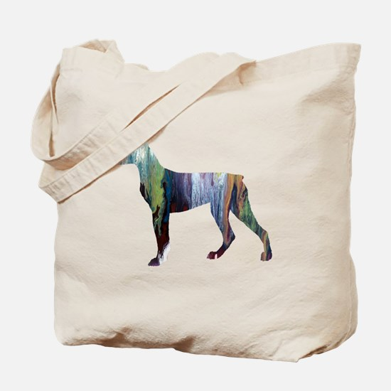 Cute Doberman pinscher Tote Bag
