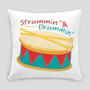 Strummin & Drummin Everyday Pillow