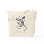 Banded Hare Wallaby Tote Bag