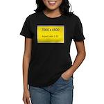 Large Poster Image Women's Dark T-Shirt