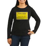 Large Poster Image Women's Long Sleeve Dark T-Shir