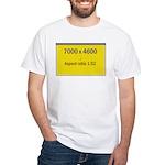 Large Poster Image White T-Shirt