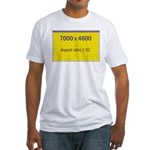 Large Poster Image Fitted T-Shirt