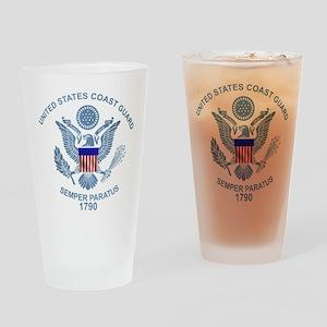 uscg_flg_d2 Drinking Glass