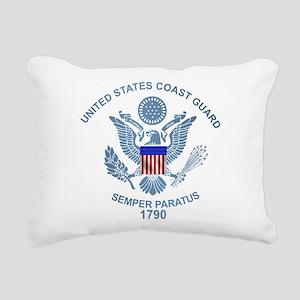 uscg_flg_d2 Rectangular Canvas Pillow