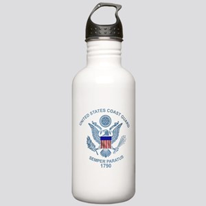uscg_flg_d2 Stainless Water Bottle 1.0L