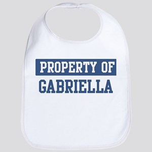 Property of GABRIELLA Bib