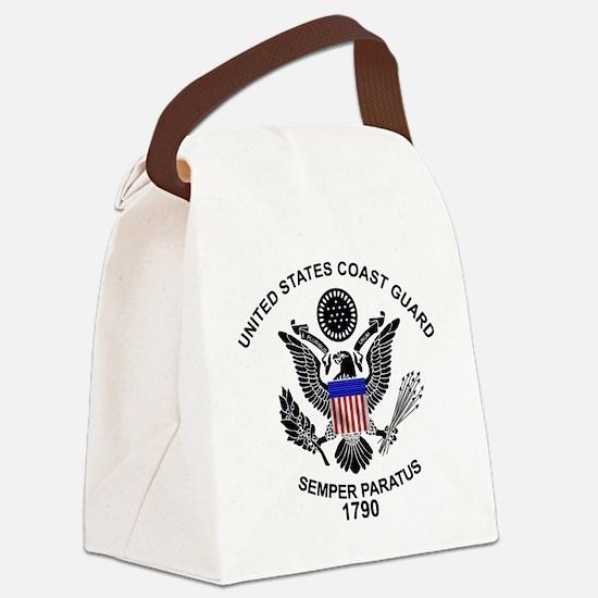 Cute Coast guard Canvas Lunch Bag