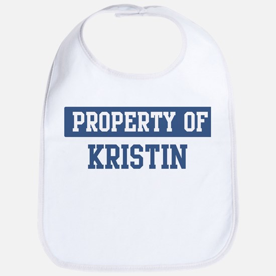Property of KRISTIN Bib