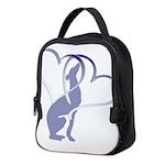 Greyhound Hearts Neoprene Lunch Bag