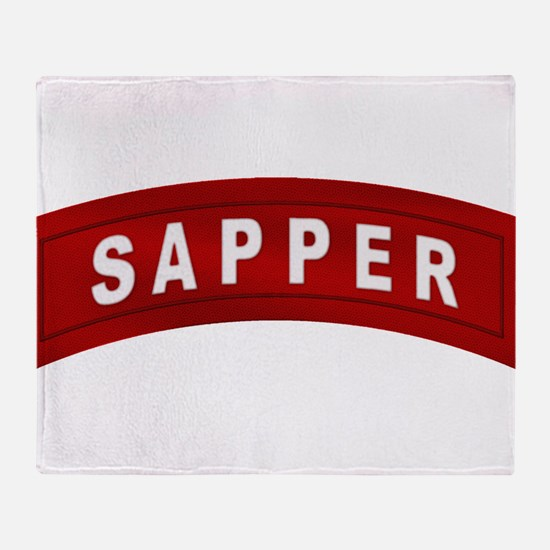 sapper_tab.png Throw Blanket