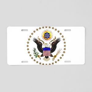 eag;e_seal_pln9 Aluminum License Plate
