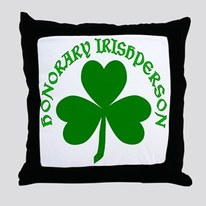 Honorary Irishperson Throw Pillow