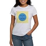Button Image Women's T-Shirt