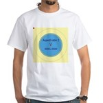 Button Image White T-Shirt