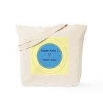 Button Image Tote Bag