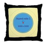 Button Image Throw Pillow
