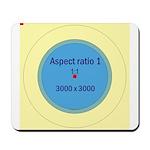 Button Image Mousepad