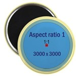 """Button Image 2.25"""" Magnet (100 pack)"""