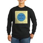 Button Image Long Sleeve Dark T-Shirt