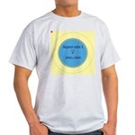 Button Image Light T-Shirt
