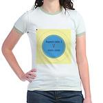 Button Image Jr. Ringer T-Shirt