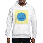 Button Image Hooded Sweatshirt