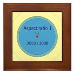 Button Image Framed Tile