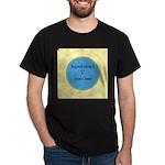 Button Image Dark T-Shirt