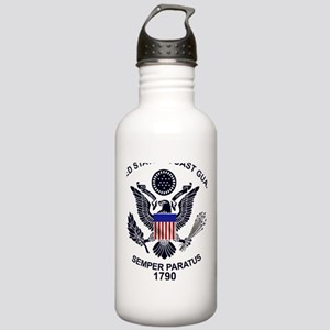 uscg_flg_d1 Stainless Water Bottle 1.0L
