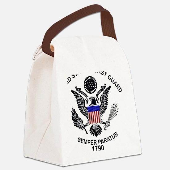 uscg_flg_d1.png Canvas Lunch Bag