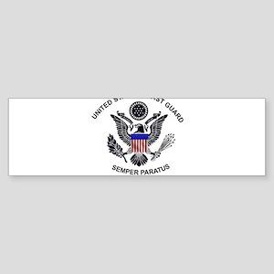uscg_flg_d1 Bumper Sticker