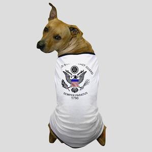 uscg_flg_d1 Dog T-Shirt
