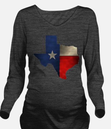 State of Texas1.png Long Sleeve Maternity T-Shirt